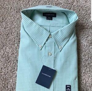 Lands' End dress shirt